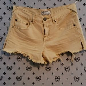 Free People Women's Distressed Shorts
